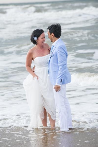 Huwelijken op het strand